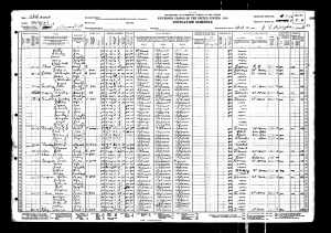 1930 United States Federal Census for Dave Burgess