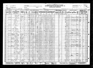 Scott Cox 1930 Census