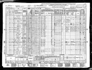 1940 United States Federal Census for Dave Burgess