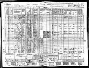 Dock Walker 1940 Census