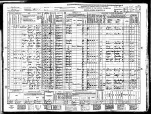 Scott Cox 1940 Census