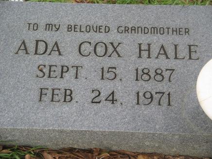 Ada Cox Hale