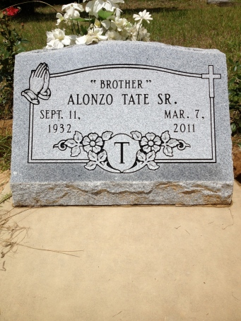 Alonzo (Brother) Tate Sr.