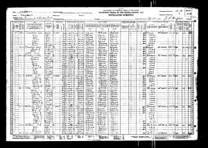 Lonnie Wesley 1930 Census