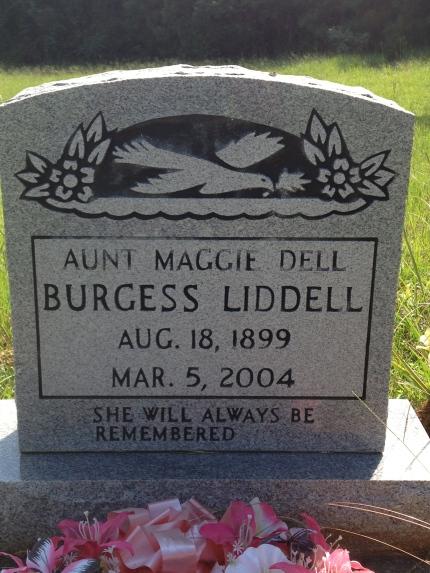 Maggie Dell Burgess Liddell