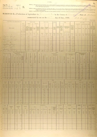Federal Agricultural Schedule