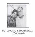 J.C. Cox Sr. & Lucile Cox