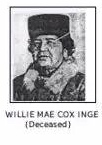 Willie Mae Cox Inge