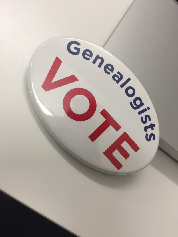 Genealogists Vote!