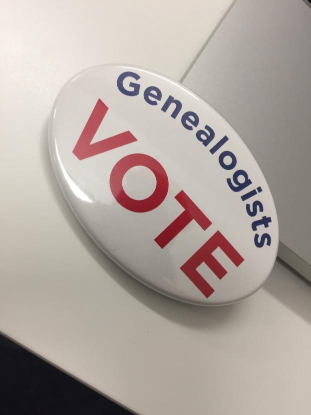 Genealogists Vote!