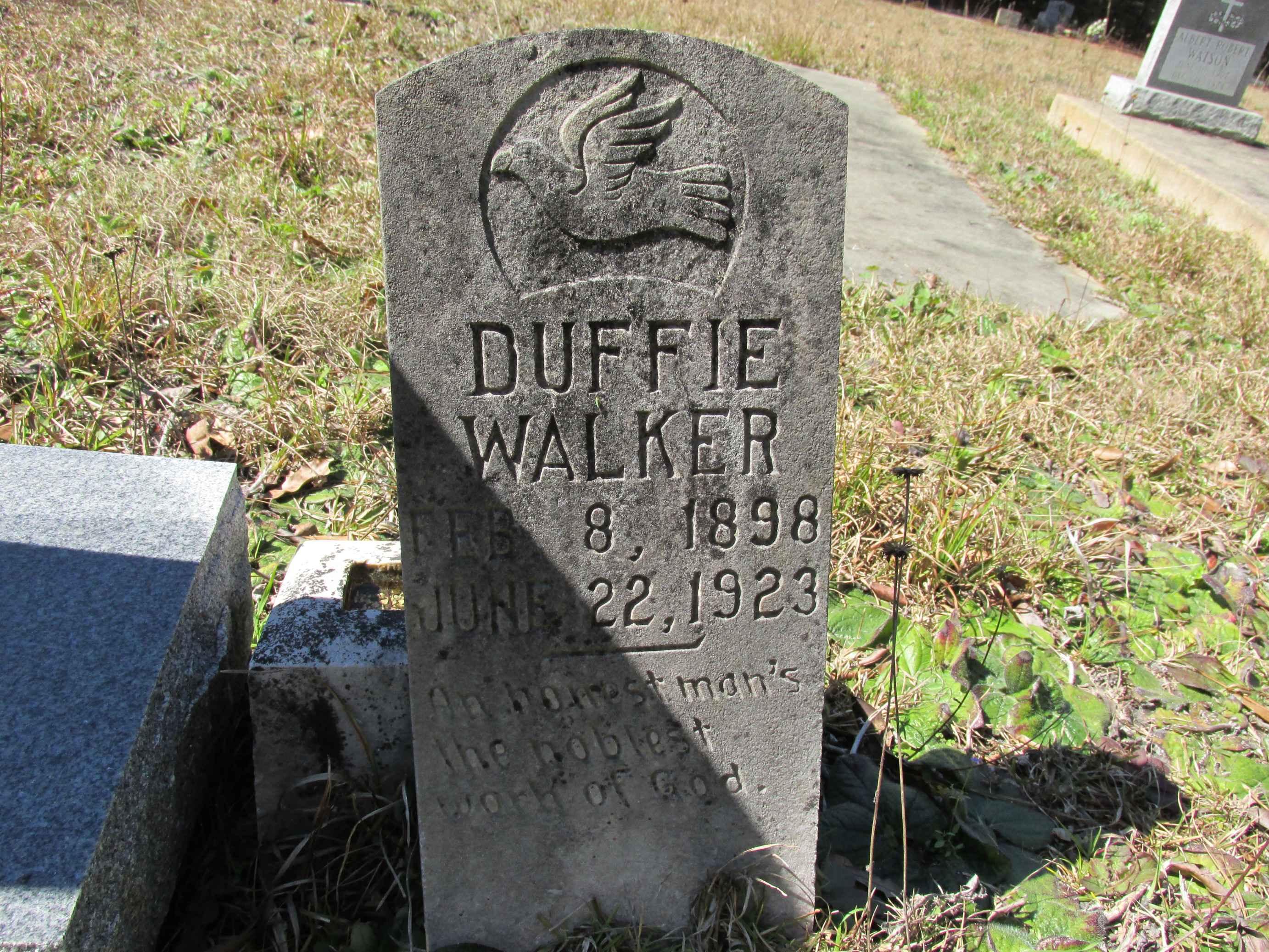 Duffie Headstone_Findagrave